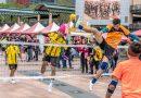 【圖輯】2017新北市泰國藤球友誼賽暨潑水節,移工球員施展足上功夫
