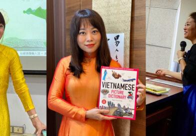 搭起台、越之間的無形橋樑--阮蓮香老師校園深耕越南語教學